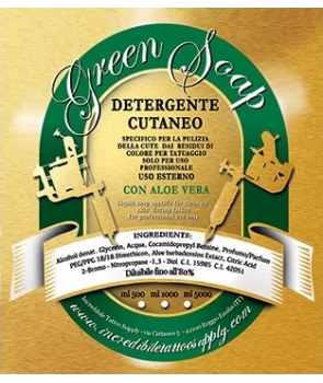 1l Green Soap concentrato con Aloe vera