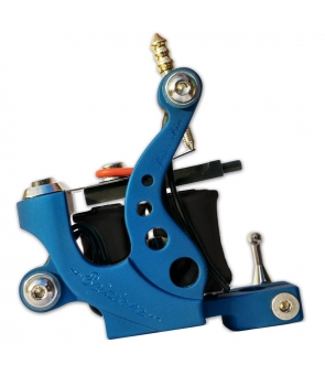 Tattoo Machine - Egiziana - Aluminum Blue