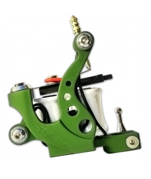 Tattoo Machine - Egiziana - Aluminum Green