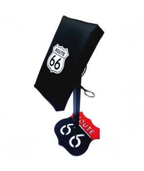 Poggia braccio Route 66 Nero e Rosso