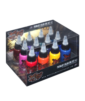 World Famous Primary Color Ink Set 2 - 30ml - 12pz